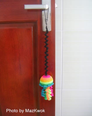 Cat Toy - Bouncing Rainbow Jellyfish ~ Be A Crafter xD