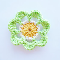 Flower #1 by Annemarie's Crochet Blog
