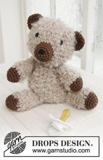 Paddy - Crochet DROPS Teddy by DROPS Design