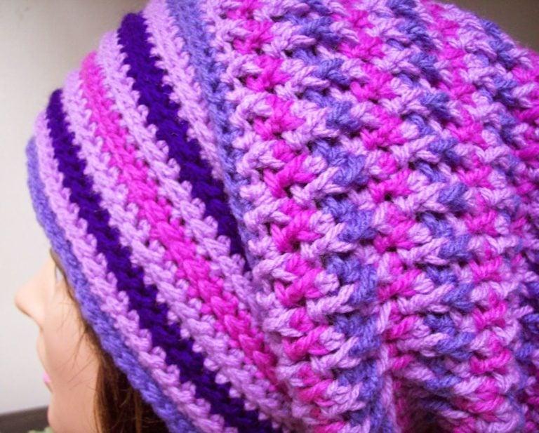 Unisex, Teaser Slouch by Cats-Rockin-Crochet