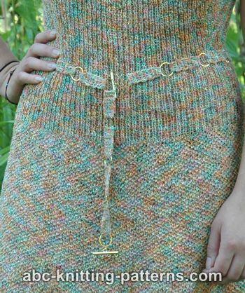 Crochet Belt with Rings ~ FREE Crochet Pattern