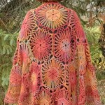 Afternoon Sunlight Shawl by ABC Knitting Patterns