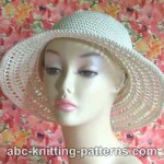 Summer Breeze Hat ~ ABC Knitting Patterns