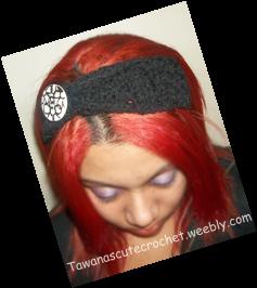 2 Sided Headband ~ Tawana's Cute Crochet