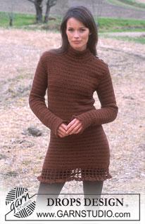 DROPS Crocheted Dress by DROPS Design