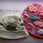 Bucketful of Bows Hat ~ Trifles N Treasures
