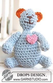 BabyDROPS Crochet Teddy by DROPS Design