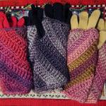 Charmed Wrist Warmers ~ Crochet Kitten