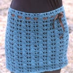 Crocheted Skirt by DROPS Design