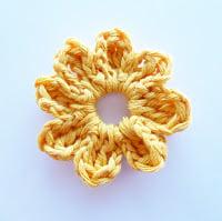 Flower #4 by Annemarie's Crochet Blog