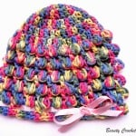 Spring Baby Bobble Crochet Hat ~ Beauty Crochet Pattern