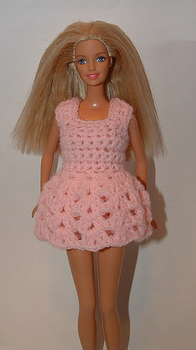 Barbie Baby Doll Top by My Recycled Bags