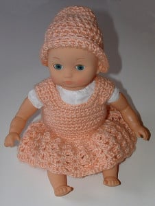 14 Inch Baby Doll Dress by My Recycled Bags