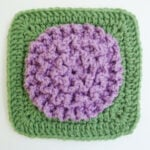 A Mother's Bloom 6″ Square ~ DragonFlyMomof2 Designs