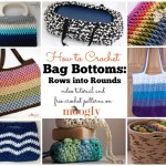 How to Crochet Bag Bottoms ~ Moogly