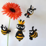Queen Bee - FREE Crochet Pattern by Kim Lapsley Crochets