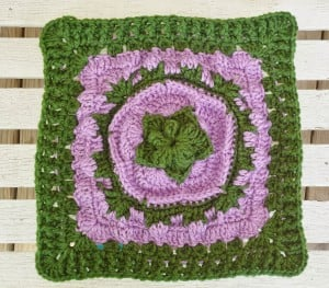 """Sea Flower 12"""" Square by DragonFlyMomof2 Designs"""