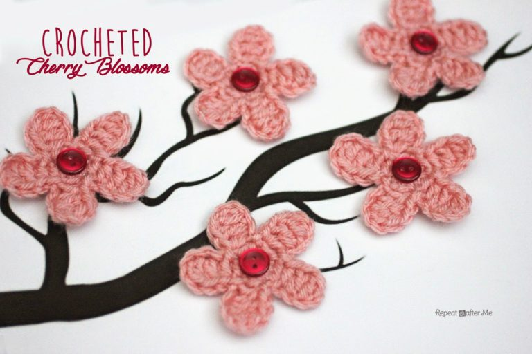 Cherry Blossom Flower by Repeat Crafter Me