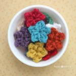 Teeny Tiny Crochet Stars by Repeat Crafter Me