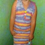 Size 6 Girls Super Cute Dress ~ Jennifer Gregory – Niftynnifer's Crochet & Crafts