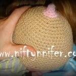 Breast Feeding Baby Hat ~ Jennifer Gregory - Niftynnifer's Crochet & Crafts