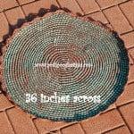 Round Cord Rug by Sara Sach of Posh Pooch Designs