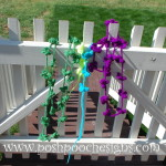 Lazy Daisy Chain Necklace by Sara Sach of Posh Pooch Designs