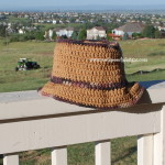 Opa's Hat - Men's Summer Hat ~ Sara Sach - Posh Pooch Designs