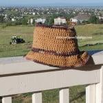 Opa's Hat – Men's Summer Hat ~ Sara Sach – Posh Pooch Designs