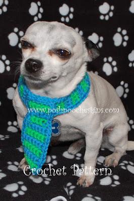 Dog Neck Tie by Sara Sach from Posh Pooch Designs