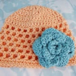 Open Stitch Hat - 3 Months ~ Alli Crafts