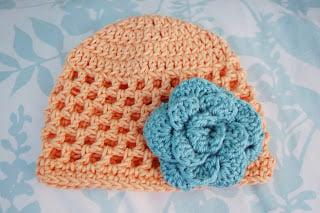 Open Stitch Hat - 3 Months by Alli Crafts