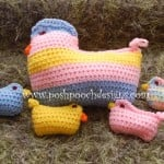 Momma Chick Stuffie ~ Sara Sach - Posh Pooch Designs