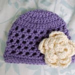 Open Stitch Hat – Newborn by Alli Crafts