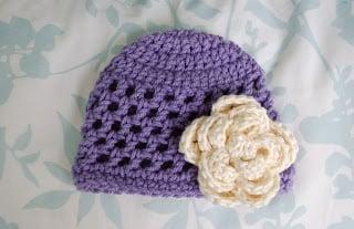 Open Stitch Hat - Newborn by Alli Crafts