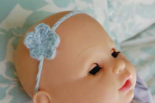 Baby Headband - Stretchy ~ Alli Crafts
