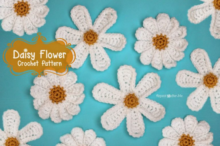 Daisy Flower by Repeat Crafter Me