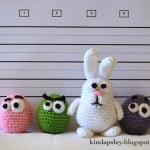 The Easter Bunny and the Googy-eggs by Kim Lapsley Crochets
