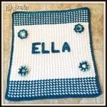 Ella's Baby Blanket by Kathy Lashley of ELK Studio