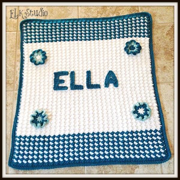 Ellas Baby Blanket Free Crochet Pattern