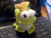 Frog Prince by Sheep of Delight