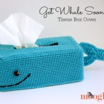 Get Whale Soon Tissue Box Cover ~ Moogly