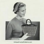 Beaded Purse ~ Antique Crochet Patterns