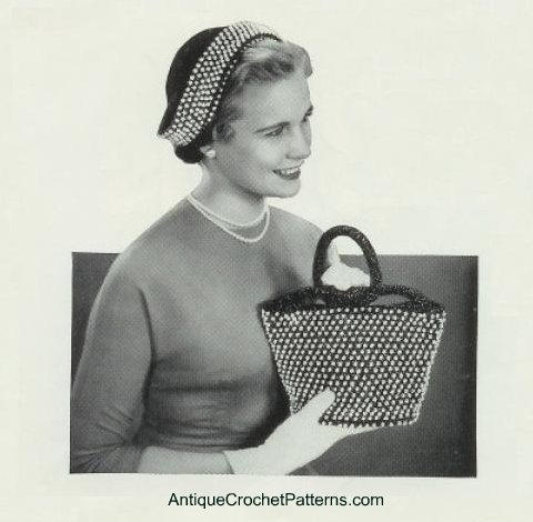 Beaded Purse by Antique Crochet Patterns