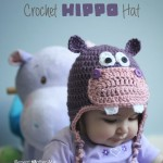 Crochet Hippo Hat ~ Repeat Crafter Me