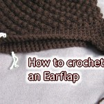 How to Crochet Ear Flaps onto a Hat: Beginner Crochet Tutorial by Meladora's Creations