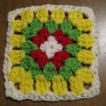 A Learning Granny Square ~ Crochet Galore