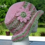 Honeysuckle – A  Free Crochet Summer Hat ~ Kathy Lashley – ELK Studio