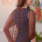 Falling Leaves Shawl ~ Renee Rodgers – Red Heart