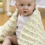 Coziest Baby Blanket Ever by Michele Wilcox for Red Heart